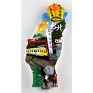 【收藏天地】台灣紀念品專賣*寶島冰箱貼-平溪天燈款  磁鐵 送禮 文創 風景 觀光 批發 禮品 波麗