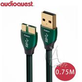 【A Shop】美國 Audioquest USB 3.0 FOREST 傳輸線 0.75M(A-MICRO)