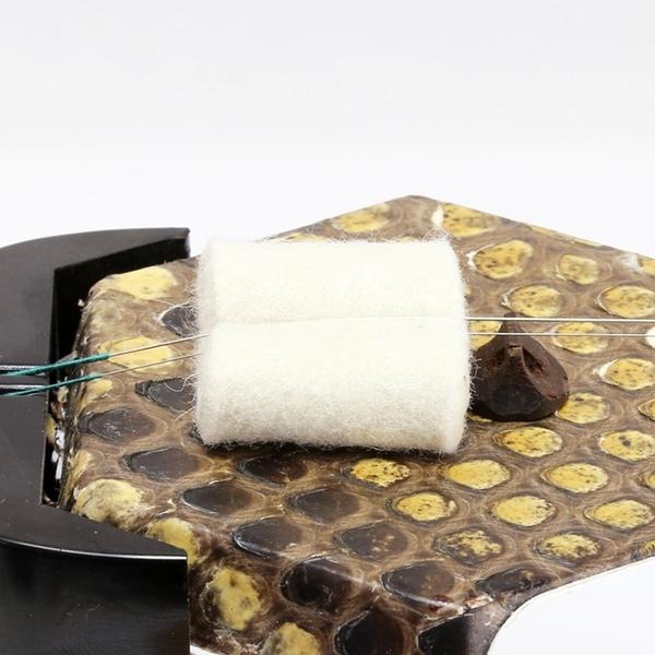 二胡濾音墊 澳洲羊毛 止音墊 二胡音墊 (34-G10) 小叮噹的店