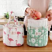 保溫袋 布藝便當包飯盒包大號帶飯包 學生保溫袋手提包袋子飯盒袋
