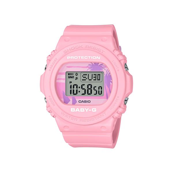 CASIO 卡西歐 BABY-G系列運動 手錶 BGD-570BC-4 海灘風情