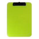 《享亮商城》66214-GR 綠色 A4超耐摔板夾 ABEL