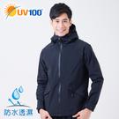 UV100 防曬 抗UV 全防水經典連帽...