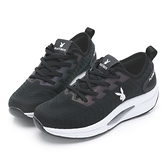 PLAYBOY 網布綁帶氣墊休閒鞋-黑(Y6236)