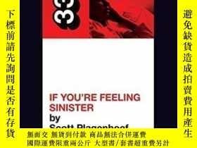 二手書博民逛書店Belle罕見And Sebastian s If You re Feeling Sinister (33 1 3