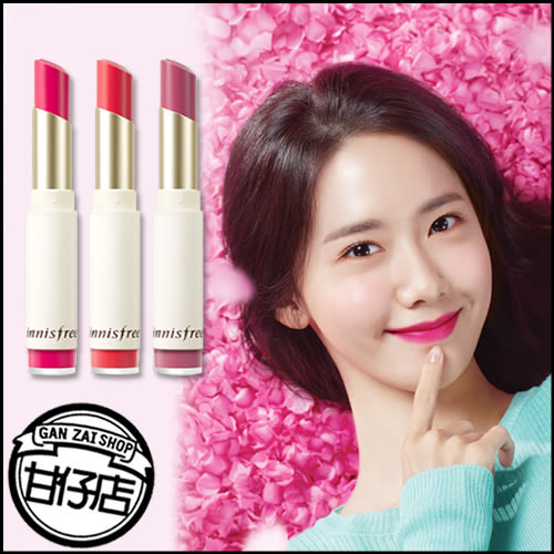 韓國 innisfree 春季 天鵝絨 唇膏 3.5g 韓妝 咬唇妝 唇彩 霧面 絲絨 裸色 粉嫩 潤娥 甘仔店3C配件
