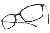 VYCOZ 光學眼鏡 MOSS BLK (黑) 沉穩簡約款 環保材質 鈦眼鏡 # 金橘眼鏡