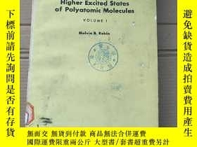 二手書博民逛書店higher罕見excited states of polyatomic molecules volume 1(P