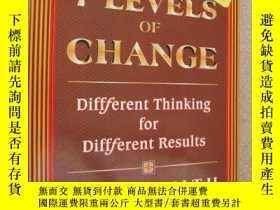 二手書博民逛書店THE罕見7 LEVELS OF CHANGE:Differen