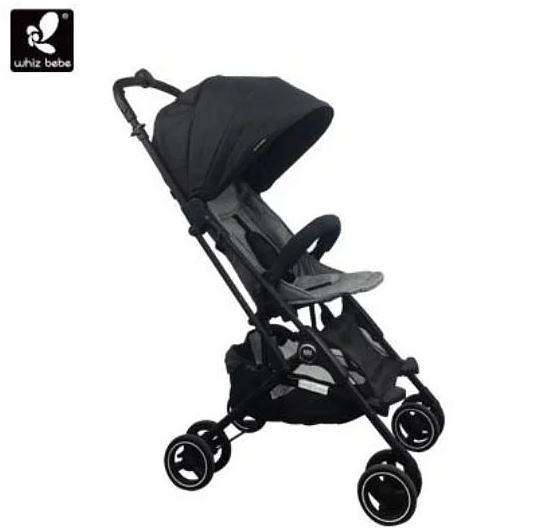Whiz bebe Mini Capsule 膠囊車第一代/嬰兒手推車(黑色)出國小幫手