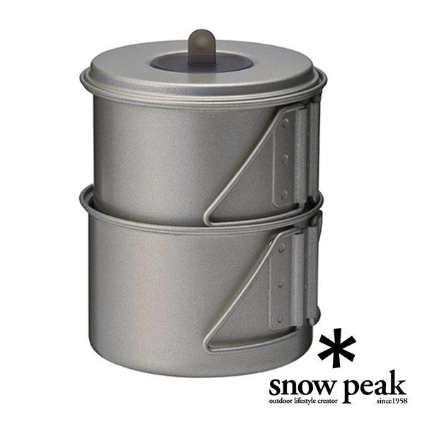snow peak MiniSolo 鈦合金個人鍋 SCS-004TR (原SCS-004T)