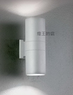 【燈王的店】舞光 庭園燈 戶外燈具 戶外壁燈 工程燈 上下打光 走道燈 OD-2100