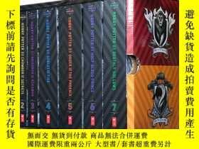 二手書博民逛書店哈利波特美版20週年版罕見Harry Potter 1-7冊全集