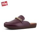 無後跟時尚穆勒鞋 金屬鍊條設計裝飾於鞋面 上下包覆輕量中底