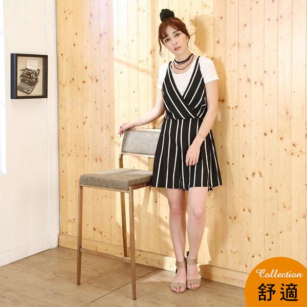 【澄境】真空電鍍不鏽鋼時尚優雅玫瑰金高腳椅/吧檯椅/白鐵製金色吧台椅/電腦椅 I-EB-CH191