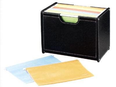 雙鶖牌 FLYING  SFR-9207 波德徠爾皮質桌上型公文架 / 個
