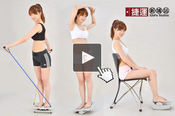第三代伸展拉筋板+拉力繩套組