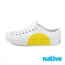 native JEFFERSON BLOCK 奶油頭休閒鞋 - 黃半圓 8861