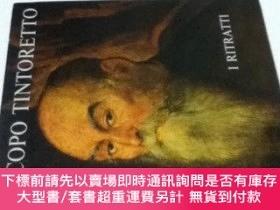 二手書博民逛書店伊文)ティントレット畫集罕見第1巻 肖像畫Jacopo Tintoretto. Volume Primo: I R