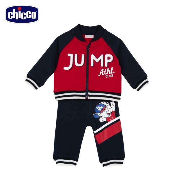 chicco-To Be BB-JUMP棒球外套套裝