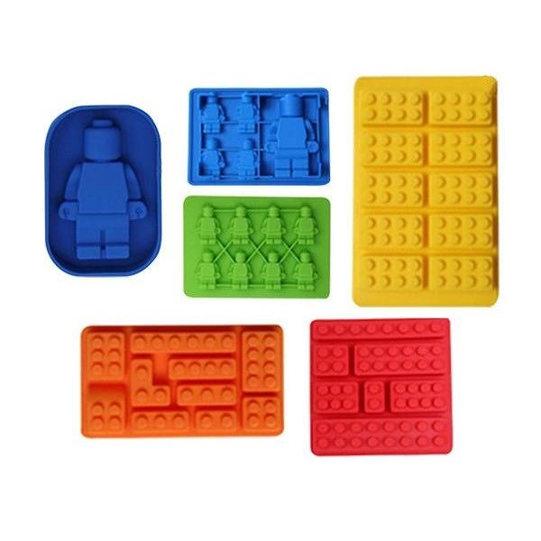 積木機器人造型製冰器 (1入) 款式可選 顏色隨機出貨【小三美日】