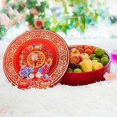 結婚用的糖果盒分格帶蓋果盒客廳婚禮喜慶用品干果盤水果盤密封盒 春生雜貨