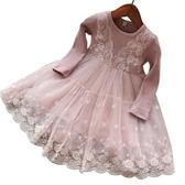 女童連身裙秋冬兒童洋氣網紗裙寶寶公主裙小女孩裙子 嬡孕哺
