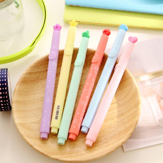 ◄ 生活家精品 ►【P138】多功能糖果色印章筆 標記筆 學生用品 設計 辦公用品 多色 創意 文具