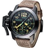 GRAHAM 格林漢 左冠計時機械腕錶 2CCAU.B09A.L43N