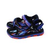 G.P(GOLD PIGEON) 涼鞋 運動型 藍色 童鞋 大童 G1623B-20 no403