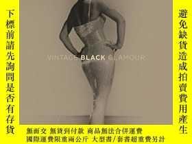 二手書博民逛書店Vintage罕見Black Glamour復古黑色魅力1913