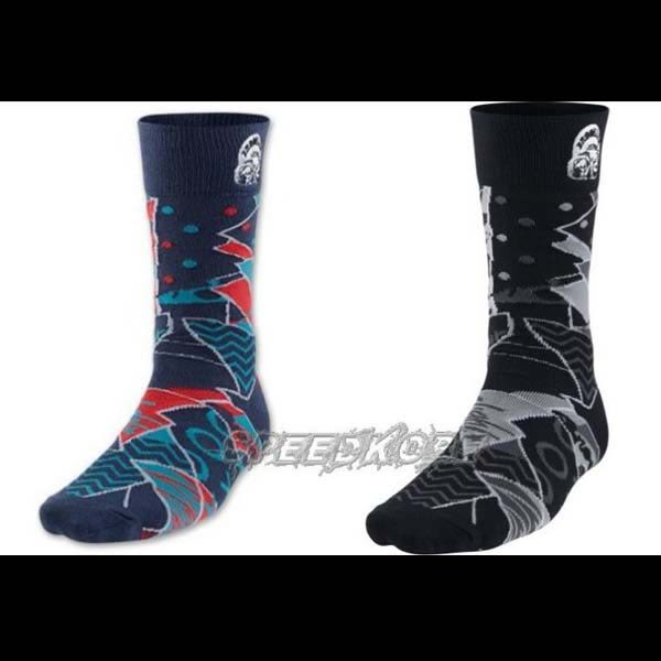Nike Air Jordan Mars Crew 喬丹 籃球襪 中筒襪 運動襪 黑/藍紅 # 684040- ☆speedkobe☆