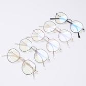防藍光輻射眼鏡男女小臉玩手機電腦保護眼睛平光鏡兒童款平鏡平面