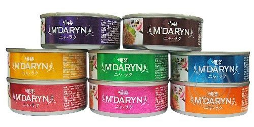 【培菓幸福寵物專營店 】M DARYN》喵樂美味貓罐系列80g*1罐