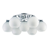 【大巨光】現代風6+1燈半吸頂燈-中(BM-21001)