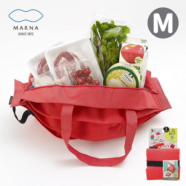 【MARNA】Shupatto系列環保收納保冷便當袋-M(顏色任選)