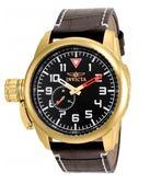 瑞士Invicta Aviator 飛行員系列男錶 影星小勞勃道尼款 鍍金錶殼 20462 瑞士錶  男士手錶