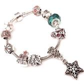 串珠手鍊-水晶飾品精美流行生日聖誕節交換禮物女配件73bo30【時尚巴黎】
