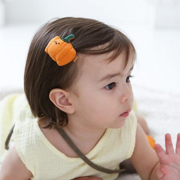 兒童發夾女寶寶頭飾1-3歲小孩子韓版飾品嬰幼兒可愛蔬菜女童發飾