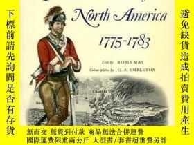 二手書博民逛書店The罕見British Army in North America 1775-83 (Men-At-Arms S
