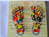 彈簧式腳踩式按摩器足底腳底按摩板足部按摩木制腳底板 『優尚良品』YJT