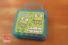 KeroKeroKeroppi 大眼蛙 12色 手提果凍盒彩色筆 郊遊綠 871952
