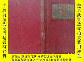 二手書博民逛書店MATHEMATICAL罕見TABLES from HANDBOOK of CHEMISTRY PHYSICS