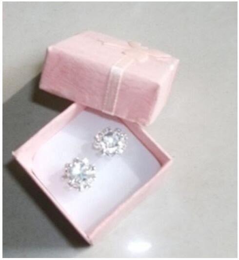 [24hr-現貨快出] 時尚 戒指 飾品 包裝盒 蝴蝶結 正方型 飾品 銷售包裝盒 精美禮盒