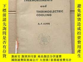 二手書博民逛書店semiconductor罕見thermoelements and thermoelectric cooling(