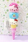 【震撼精品百貨】Hello Kitty 凱蒂貓~造型冰淇淋原子筆-TX