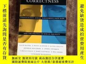二手書博民逛書店Debating罕見Sexual Correctness (英文