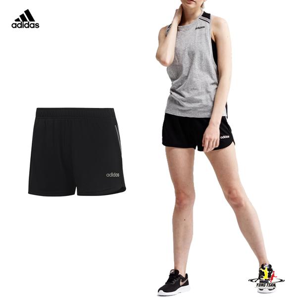 Adidas Szorty 女 黑色 短褲 運動短褲 真理褲 運動 吸濕 排汗 慢跑 健身 瑜珈 短褲 DS8725