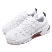 Puma 休閒鞋 LQD Cell Omega Density 白 紅 男鞋 女鞋 運動鞋 反光 【PUMP306】 37073602