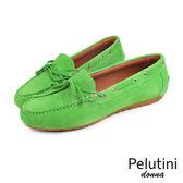 【Pelutini】donna麂皮休閒鞋/女鞋 草綠(8334W-GRS)